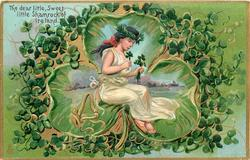 THE DEAR LITTLE, SWEET LITTLE,SHAMROCK OF IRELAND