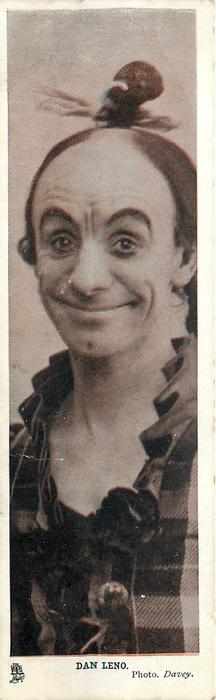 DAN LENO  with pigtail