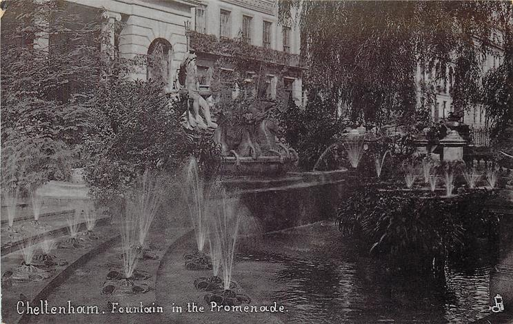 FOUNTAIN IN THE PROMENADE