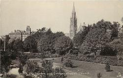 THE GARDEN AND CONGREGATIONAL CHRUCH