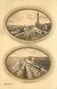two oval insets  CLARMONT PROMENADE FROM HOTEL METROPOLE//NORTH SHORE