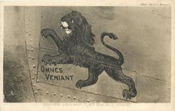 "OMNES VENIANT ""LET 'EM ALL COME."", THE ""LIONS"" MOTTO"