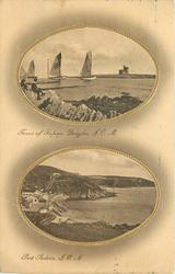 2 insets  TOWER OF REFUGE, I.O.M.//PORT SODERIC, I.O.M.(now Port Soderick),