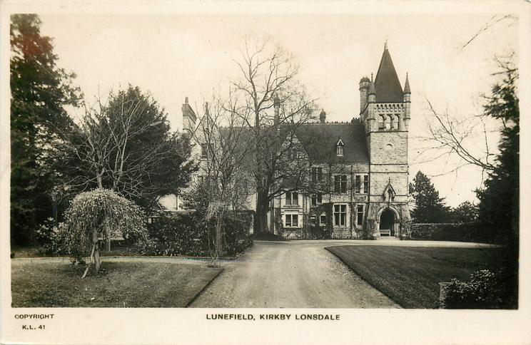 LUNEFIELD from drive way