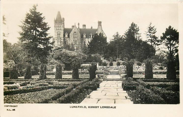 LUNEFIELD from gardens