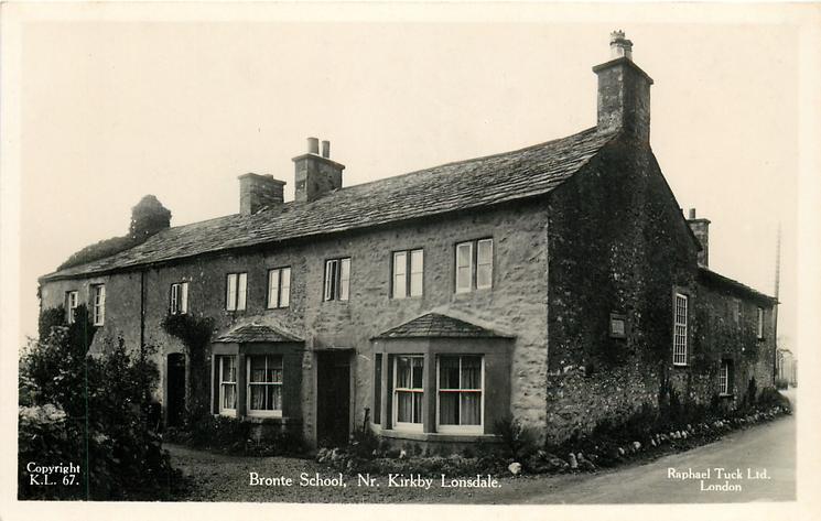 BRONTE SCHOOL, NR. KIRKBY LONSDALE