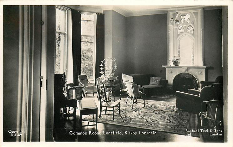 COMMON ROOM, LUNEFIELD