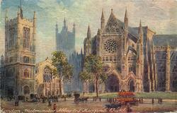 LONDON. WESTMINSTER ABBEY & ST. MARGARET'S CHURCH