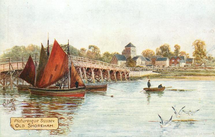 PICTURESQUE SUSSEX, OLD SHOREHAM