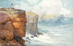 ENTRANCE TO THE HARBOUR, THE GAP & LIGHTHOUSE, SYDNEY