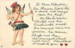 TO MINE VALENTINE: DER CHERMAN CUPID