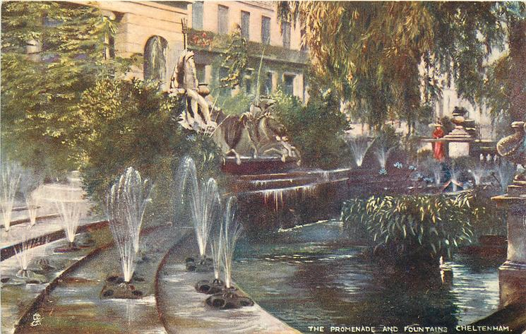 THE PROMENADE AND FOUNTAINS