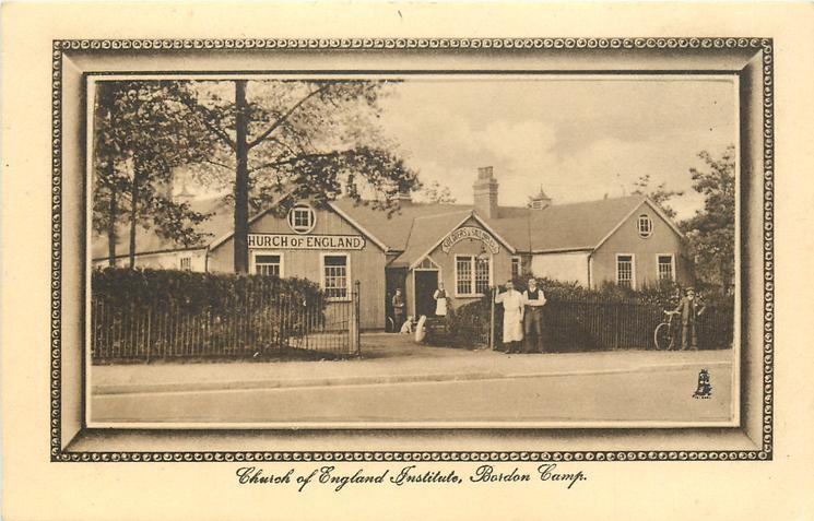 CHURCH OF ENGLAND INSTITUTE, BORDON CAMP
