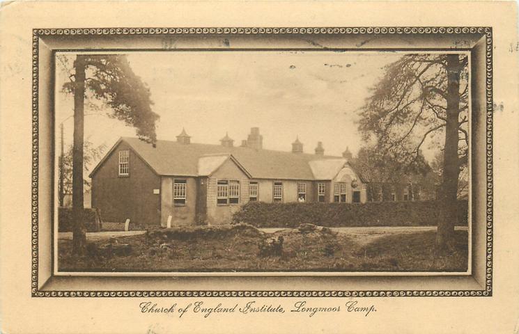 CHURCH OF ENGLAND INSTITUTE, LONGMOOR CAMP