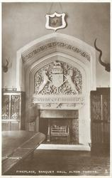 FIREPLACE, BANQUET HALL