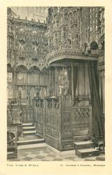 THE KING'S STALL