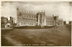 EXTERIOR OF ST. GEORGE'S CHAPEL