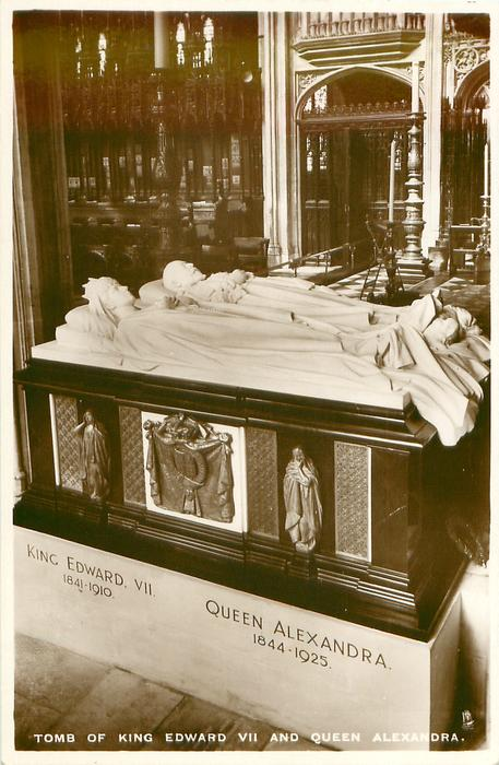 TOMB OF KING EDWARD VII AND QUEEN ALEXANDRA, St. George's chapel