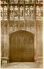 WEST DOOR (INTERIOR)