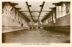 THE RIDING SCHOOL, ROYAL MEWS WINDSOR CASTLE