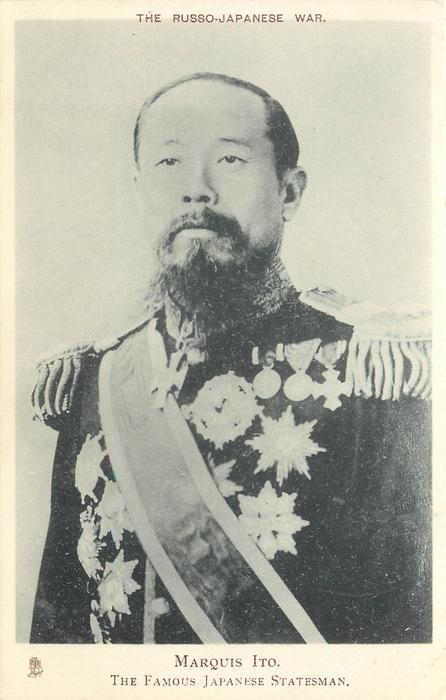 MARQUIS ITO,  THE FAMOUS JAPANESE STATESMAN