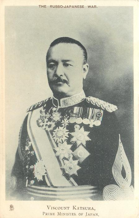 VISCOUNT KATSURA,  PRIME MINISTER OF JAPAN