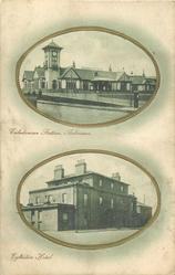 2 insets CALEDONIAN STATION, ARDROSSAN and EGLINTON HOTEL
