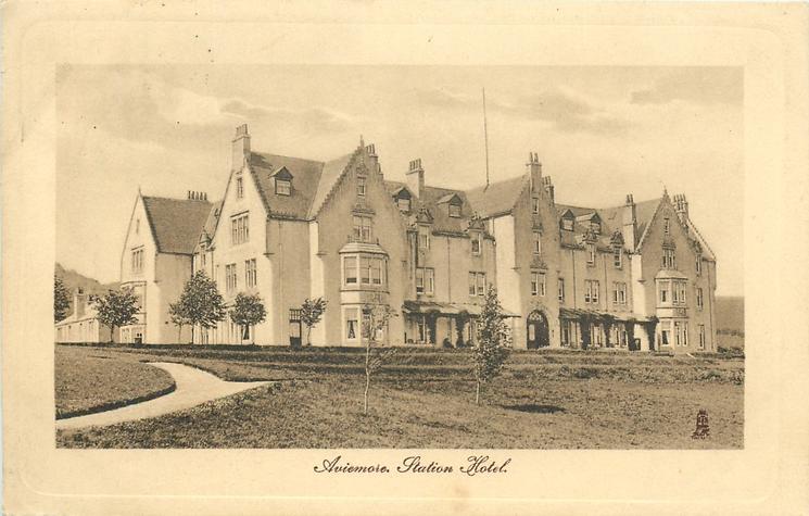AVIEMORE. STATION HOTEL