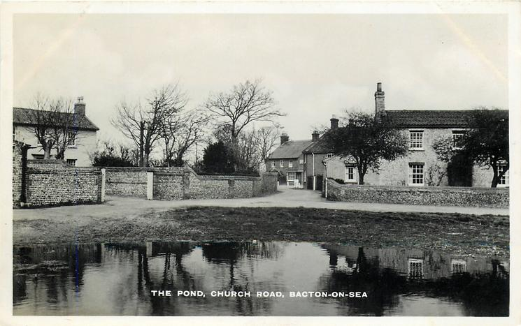 THE POND, CHURCH ROAD