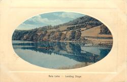 BALA LAKE - LANDING STAGE
