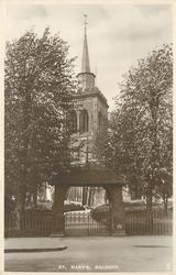 ST. MARY'S  exterior