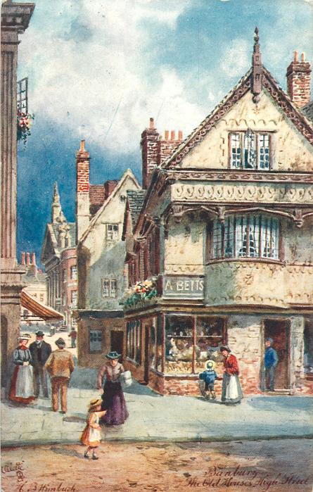 THE OLD HOUSES, HIGH STREET