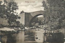 BRIDGE OF DYE