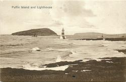 PUFFIN ISLAND AND LIGHTHOUSE