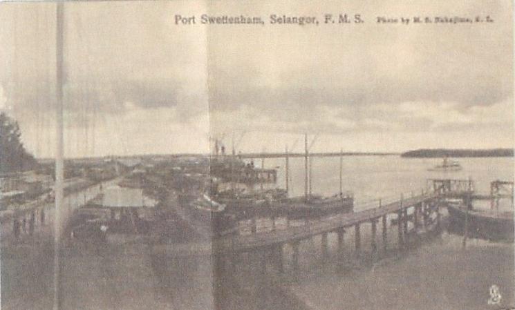 PORT SWETTENHAM, SELANGOR F.M.S.