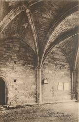 ABBEY GATEWAY-INTERIOR