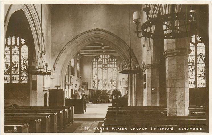 ST. MARY'S PARISH CHURCH (INTERIOR)
