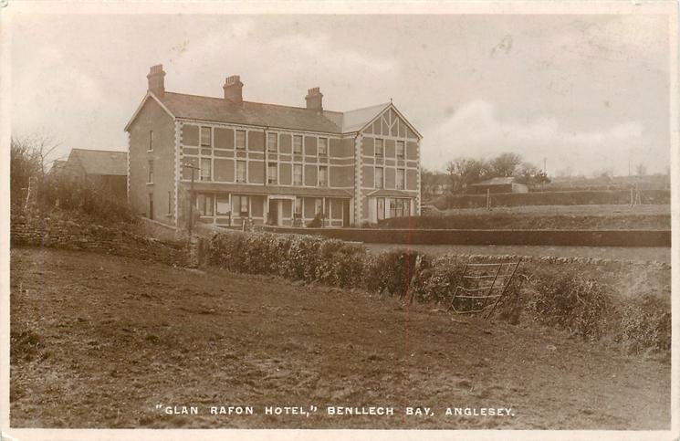 """""""GLEN RAFTON HOTEL,"""" BENLLECH BAY, ANGLESEY"""