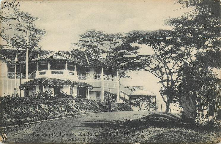 RESIDENT'S HOUSE, KUALA LUMPUR