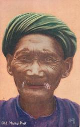 OLD MALAY HAJI