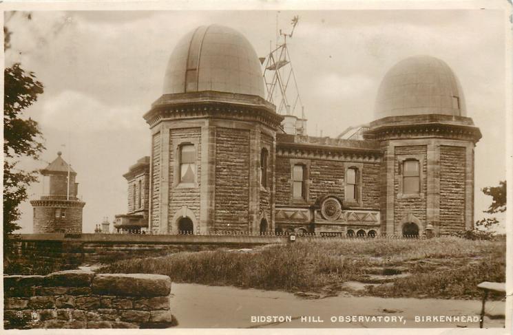 BIDSTON HILL OBSERVATORY