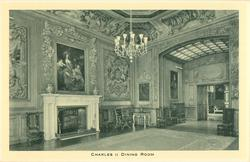 CHARLES II DINING ROOM