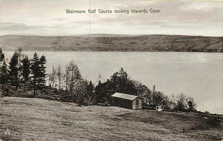 BLAIRMORE GOLF COURSE LOOKING TOWARDS COVE