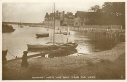 BLAKENEY HOTEL AND QUAY (FROM THE WEST)