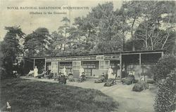 ROYAL NATIONAL SANATORIUM, BOURNEMOUTH (SHELTERS IN THE GROUNDS)  tuberculosis treatment