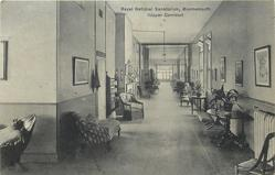 ROYAL NATIONAL SANATORIUM, BOURNEMOUTH (UPPER CORRIDOR)  tuberculosis. treatment