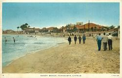 SANDY BEACH, FAMAGUSTA