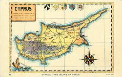 "CYPRUS, ""THE ISLAND OF VENUS"""