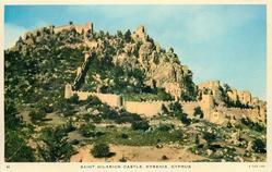 SAINT HILARION CASTLE, KYRENIA