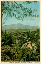 VIEW OF PLATRES, TROODOS